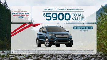 Ford Memorial Day Sales Event TV Spot, 'Savings on Savings' [T2] - Thumbnail 7