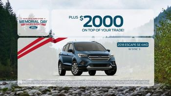 Ford Memorial Day Sales Event TV Spot, 'Savings on Savings' [T2] - Thumbnail 8