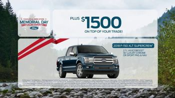 Ford Memorial Day Sales Event TV Spot, 'Savings on Savings' [T2] - Thumbnail 9