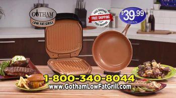 Gotham Steel Low-Fat Grill TV Spot, 'New Indoor Grill' - Thumbnail 10
