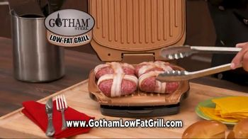 Gotham Steel Low-Fat Grill TV Spot, 'New Indoor Grill' - Thumbnail 4