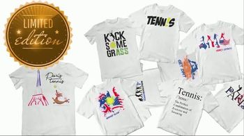 Tennis Express TV Spot, 'Limited Edition Shirts' - Thumbnail 9
