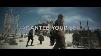 Atom Tickets TV Spot, 'Solo: A Star Wars Story' - Thumbnail 4
