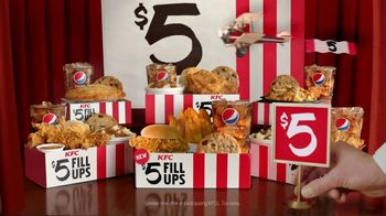 KFC $5 Fill Ups TV Spot, 'A Real Meal'