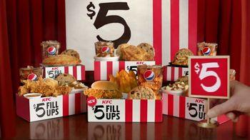 KFC $5 Fill Ups TV Spot, 'A Real Meal' - Thumbnail 9