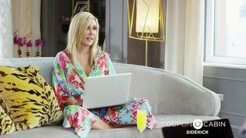 CouponCabin.com Sidekick TV Spot, 'Favorite Sidekick' Ft. Tinsley Mortimer - 3 commercial airings