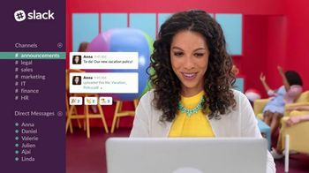 Slack TV Spot, 'The Collaboration Hub for Work'