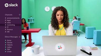 Slack TV Spot, 'The Collaboration Hub for Work'