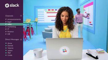 Slack TV Spot, 'The Collaboration Hub for Work' - Thumbnail 5