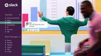 Slack TV Spot, 'The Collaboration Hub for Work' - Thumbnail 6
