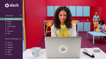 Slack TV Spot, 'The Collaboration Hub for Work' - Thumbnail 7