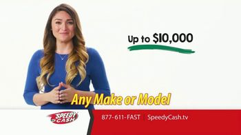 Speedy Cash TV Spot, 'Cash for Your Car'