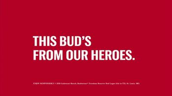 Budweiser Freedom Reserve TV Spot, 'Folds of Honor: Service Never Stops' - Thumbnail 7
