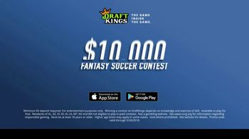 DraftKings TV Spot, '$10,000 Fantasy Soccer Contest' - Thumbnail 9