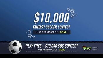 DraftKings TV Spot, '$10,000 Fantasy Soccer Contest' - Thumbnail 2