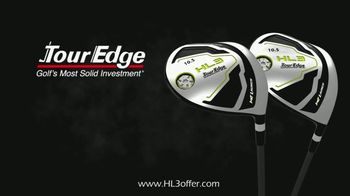Tour Edge Golf HL3 Drivers TV Spot, 'Powerful Cup Face Design'
