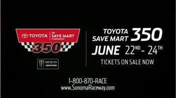 Sonoma Raceway TV Spot, '2018 Toyota Save Mart 350' - Thumbnail 10