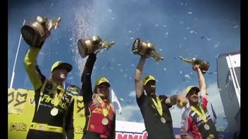 NHRA TV Spot, '2018 Mello Yello: Women of Power' - 4 commercial airings