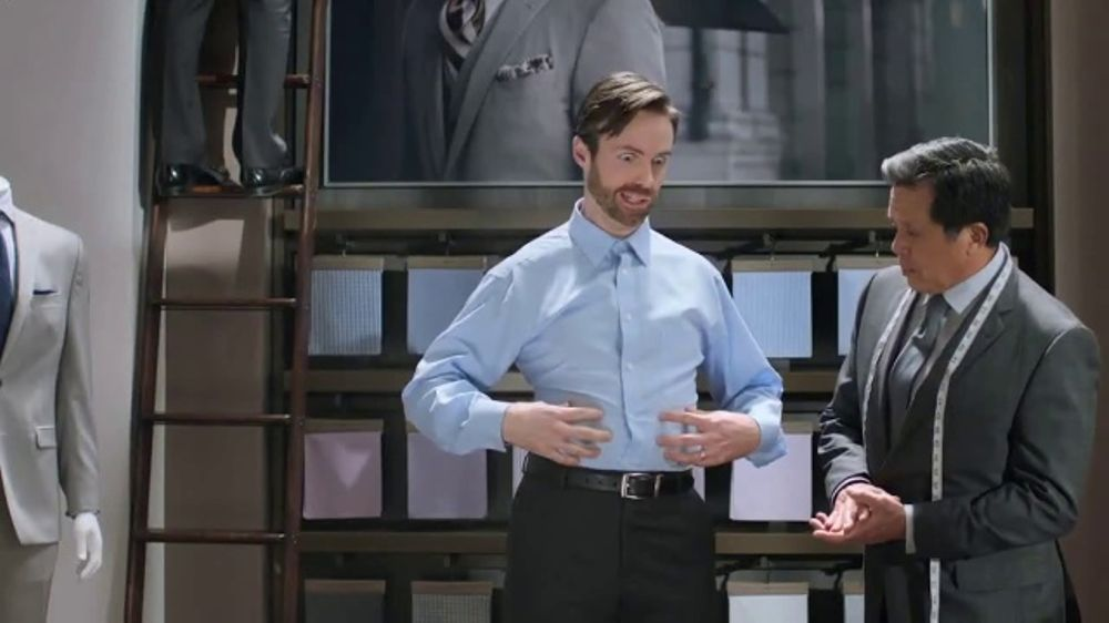 Men's Wearhouse Custom Shirts TV Commercial, 'Choose Your Look'