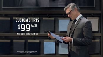 Men's Wearhouse Custom Shirts TV Spot, 'Choose Your Look' - Thumbnail 8