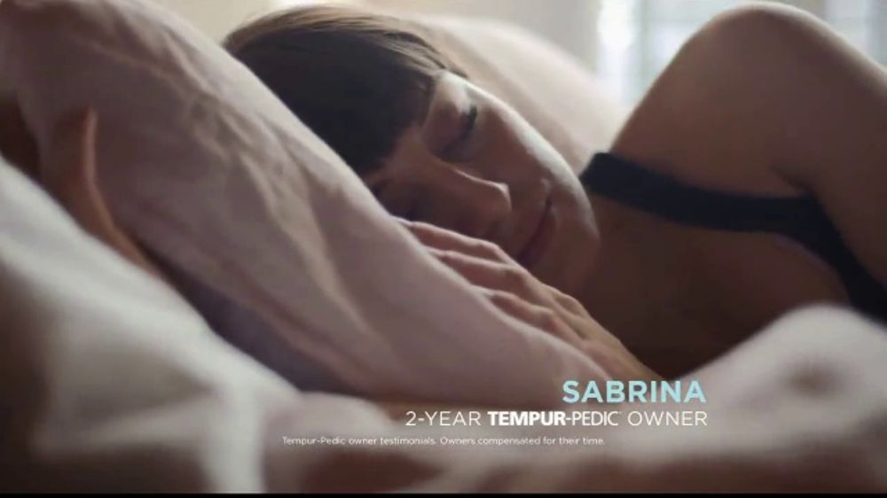 Tempur Pedic Memorial Day Sale Tv Commercial Sabrina Highly