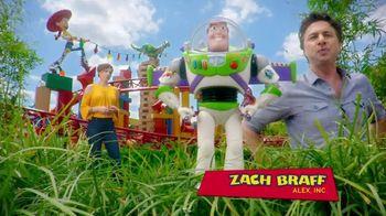 Walt Disney World TV Spot, 'ABC: Toy Story Land: Woody' Feat. Zach Braff - Thumbnail 3