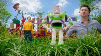 Walt Disney World TV Spot, 'ABC: Toy Story Land: Woody' Feat. Zach Braff - 1 commercial airings