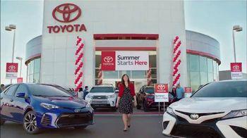 Toyota Summer Starts Here TV Spot, 'Best Moments' [T2] - Thumbnail 5