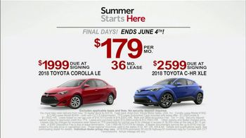Toyota Summer Starts Here TV Spot, 'Best Moments' [T2] - Thumbnail 8