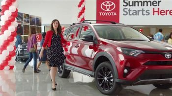 Toyota Summer Starts Here TV Spot, 'Beach Ball' [T2] - Thumbnail 2