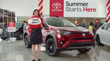 Toyota Summer Starts Here TV Spot, 'Beach Ball' [T2]