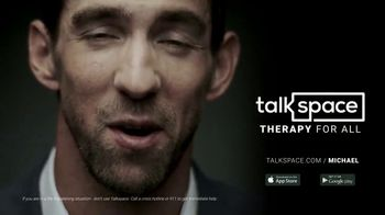 Talkspace TV Spot, 'A Great Therapist' Featuring Michael Phelps - Thumbnail 9