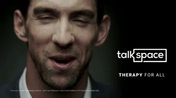 Talkspace TV Spot, 'A Great Therapist' Featuring Michael Phelps - Thumbnail 8