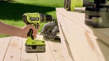 The Home Depot Ryobi Days TV Spot, 'Over 100 Tools: Drill & Impact Kit' - Thumbnail 2