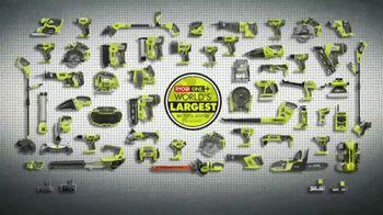 The Home Depot Ryobi Days TV Spot, 'Over 100 Tools: Drill & Impact Kit' - Thumbnail 8