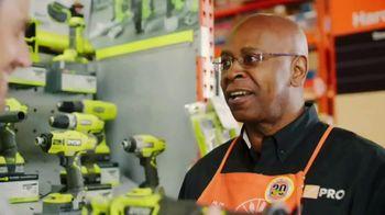 The Home Depot Ryobi Days TV Spot, 'Over 100 Tools: Drill & Impact Kit' - Thumbnail 9