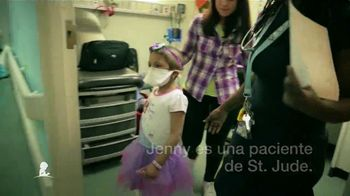 St. Jude Children's Research Hospital TV Spot, 'Jenny' [Spanish]