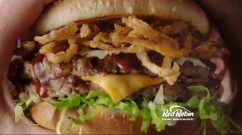 Red Robin Cowboy Ranch Tavern Double TV Spot, 'Let's Burger' - Thumbnail 3