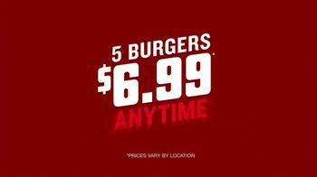 Red Robin Cowboy Ranch Tavern Double TV Spot, 'Let's Burger' - Thumbnail 4