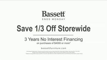 Bassett Memorial Day Sale TV Spot, 'Be Modern' - Thumbnail 8