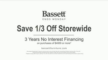 Bassett Memorial Day Sale TV Spot, 'Be Modern' - Thumbnail 7
