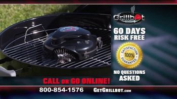 Grillbot TV Spot, 'Automatic Grill Cleaner' - Thumbnail 10