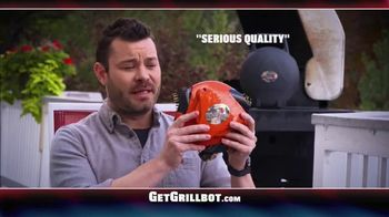 Grillbot TV Spot, 'Automatic Grill Cleaner'