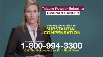 Goldwater Law Firm TV Spot, 'Talcum Powder and Ovarian Cancer' - Thumbnail 5
