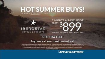 Apple Vacations TV Spot, 'Unforgettable Family Memories: Iberostar Hotels' - Thumbnail 8