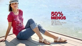 Macy's Venta de Memorial Day TV Spot, 'Zapatos y sandalias' [Spanish] - Thumbnail 7