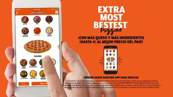 Little Caesars Pizza EXTRAMOSTBESTEST TV Spot, 'Celebra' [Spanish] - Thumbnail 7