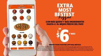 Little Caesars Pizza EXTRAMOSTBESTEST TV Spot, 'Celebra' [Spanish] - Thumbnail 8