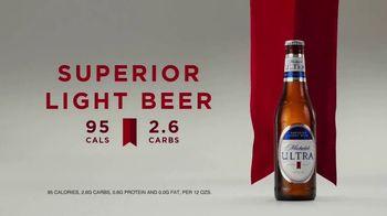 Michelob ULTRA TV Spot, 'Superior Light Beer' - Thumbnail 9