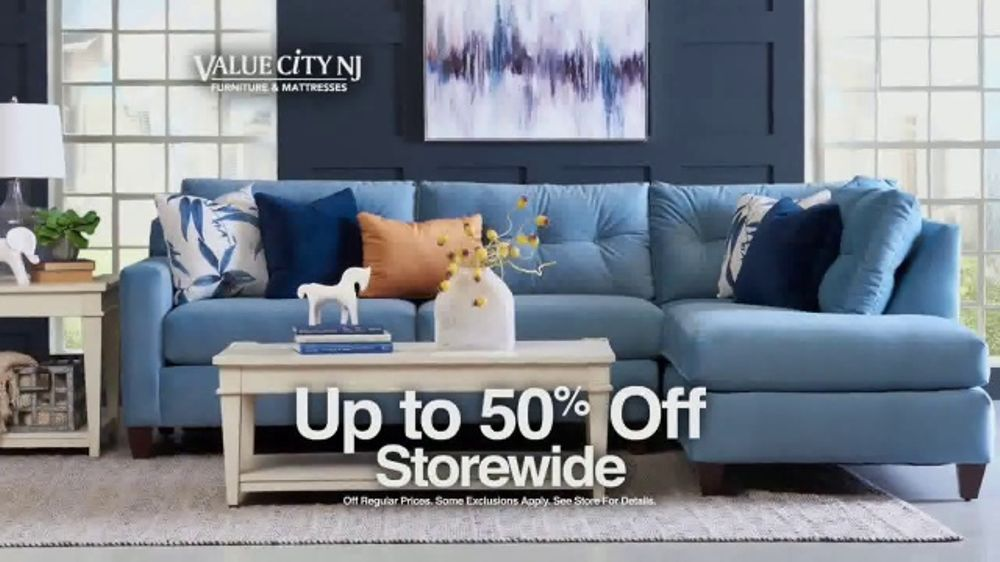 Value City Furniture Memorial Sale Tv Commercial Five Piece Bedroom Video